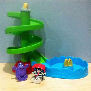 VINTAGE Happy Meal toys by McDonalds slide set