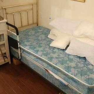 BED + FRAME/MATRESS