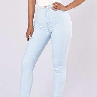 Fashion Nova High Waist Skinny Jeans