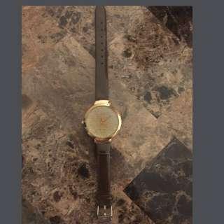A cute brown watch