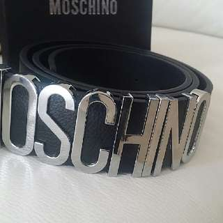 Moschino Leather Belt New
