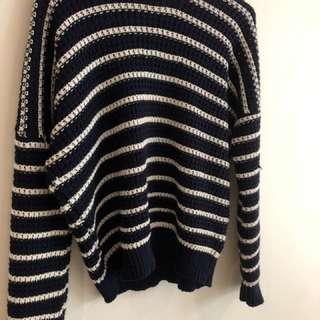 Zara baby stripe jumper size Small