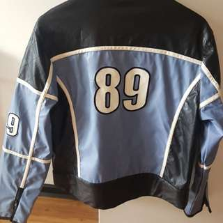 Ladies biker style jacket