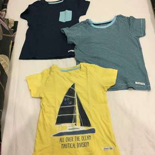 Mothercare shirts age 3 boys