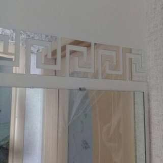 VERSACE Pattern Wall Mirror Stickers