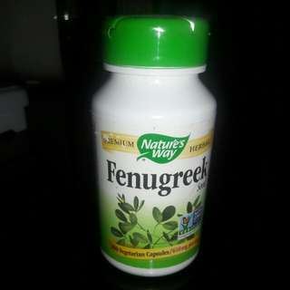Natures Way Fenugreek 180 Vegetarian Caps Blessed Thistle 100 Source · Fenugreek booster asi