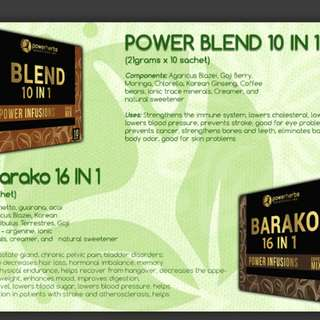 BLEND and BARAKO