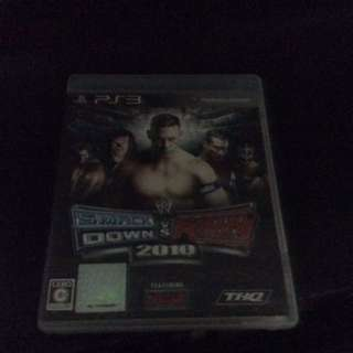 Ps3 game wwe svr 2010