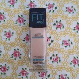 FIT ME MATTE FOUNDATION SHADE PURE BEIGE