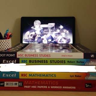 Year 12 Textbooks - Business Studies & Mathematics