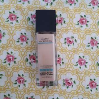FIT ME MATTE MAYBELLINE FOUNDATION SHADE CREAMY BEIGE