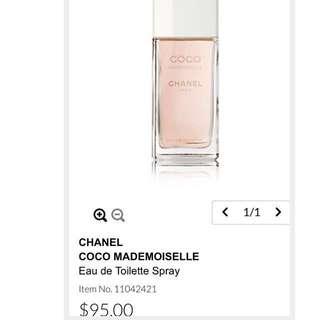 Authentic Chanel Coco Perfume