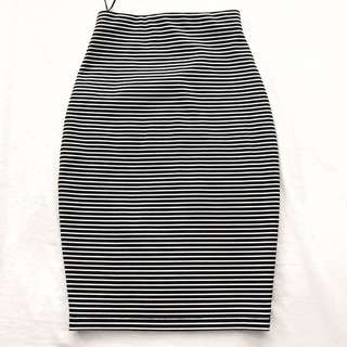 Striped bodycon skirt from Fifth the label