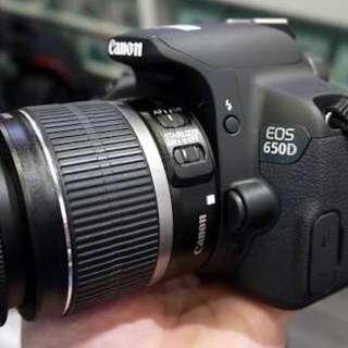 Canon SLR 650D