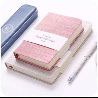[Instock] Fabric Notebook