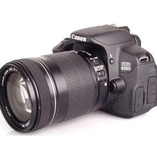 Canon EOS 650D RENTAL