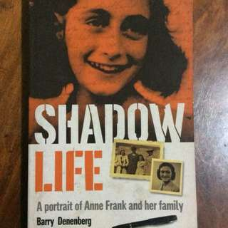 Shadow Life (portrait of Anne Frank)
