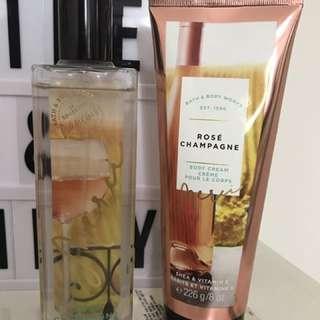Bath & Body Works (Rose Chpagne)