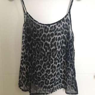 New Look Leopard Top