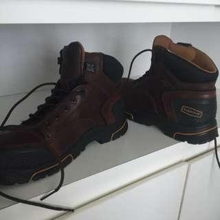Lacrosse steel-toe boots
