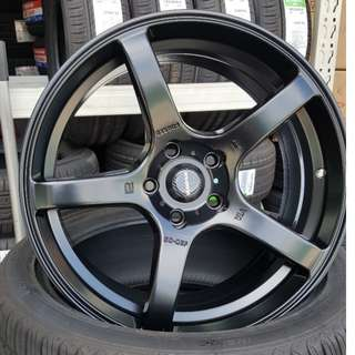 "Prodrive GC05F 18"" Matt Black (Replica)"