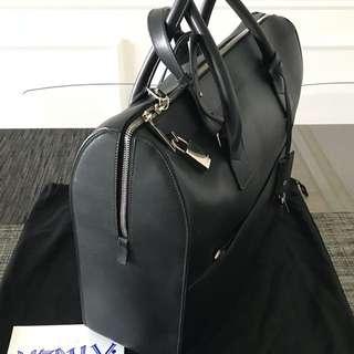 Saint Laurent Museum Leather Briefcase