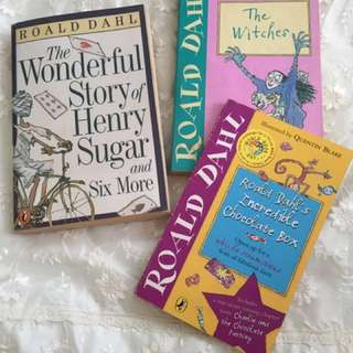 The Wonderful  Story of Henry Sugar and 6 More•The Witches•Roald Dahl's Incredible  Chocolate Box