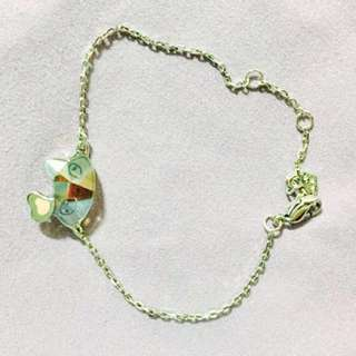 Swarovski kitty bracelet