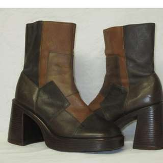 Vintage Steve Madden 90s Platform Boots