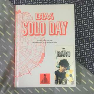 B1A4 Solo Day (B version) + Baro photocard