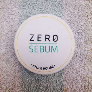 Etude Sebum Zero Powder