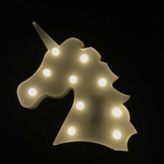 Unicorn Lamp LED tumblr lamp