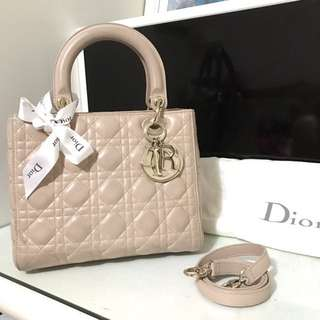 The Christian Dior Lady Bag 70%new