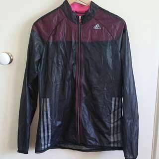 NEW Adidas light wind breaker jacket size M