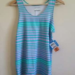 New Columbia sports tank size S