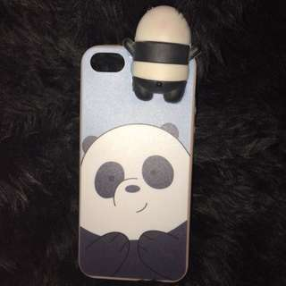 We Bare Bears Panda Case for iPhone 5s