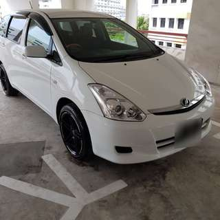 10H Glass Coating for cars (Toyota Wish Oct)