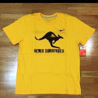 🚚 Authentic New Made In Australia Nike Socceroos Sports T-shirt Tee US Size M