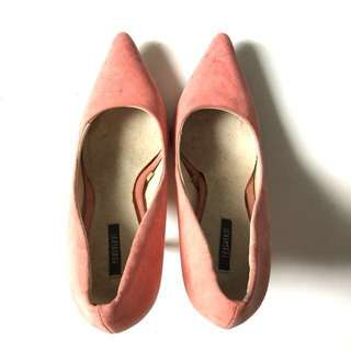 PLOVED: Forever 21 Coral Pumps Shoes