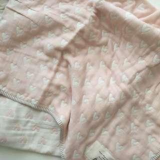 Baby girl's blanket