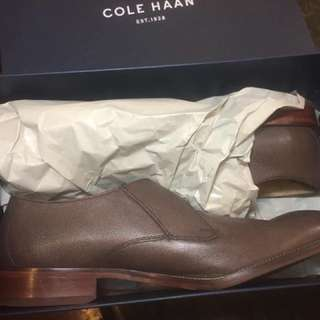 Cole Haan Brown Monk Shoes