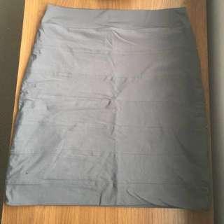 Grey/Khaki Kookai skirt