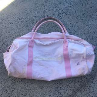 Pink Country Road Canvas Bag