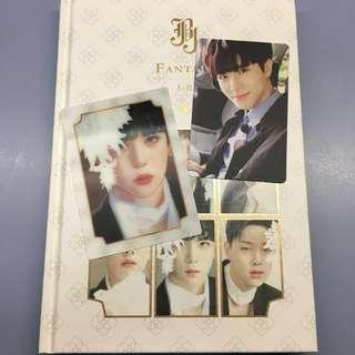 [ WTT ] JBJ Fantasy Album I-II : Donghan's lenticular card and pc for hyunbin's