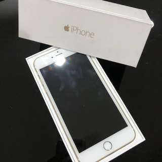 iPhone 6 Plus 64Gb Gold with new battery (myset)