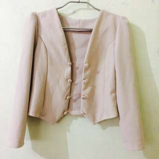 Corporate Blazer - Nude color @230 only!!