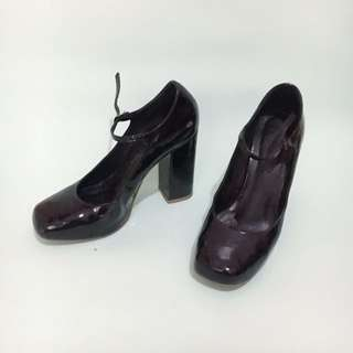 Patent Mary Jane Heels
