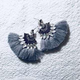 Statement Tassels Earrings