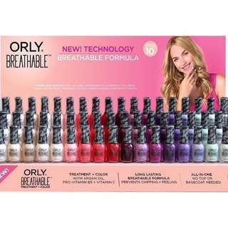 Orly breathable halah nail polish treatment