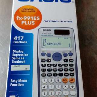 Scientific Calculator fx-991ES Plus